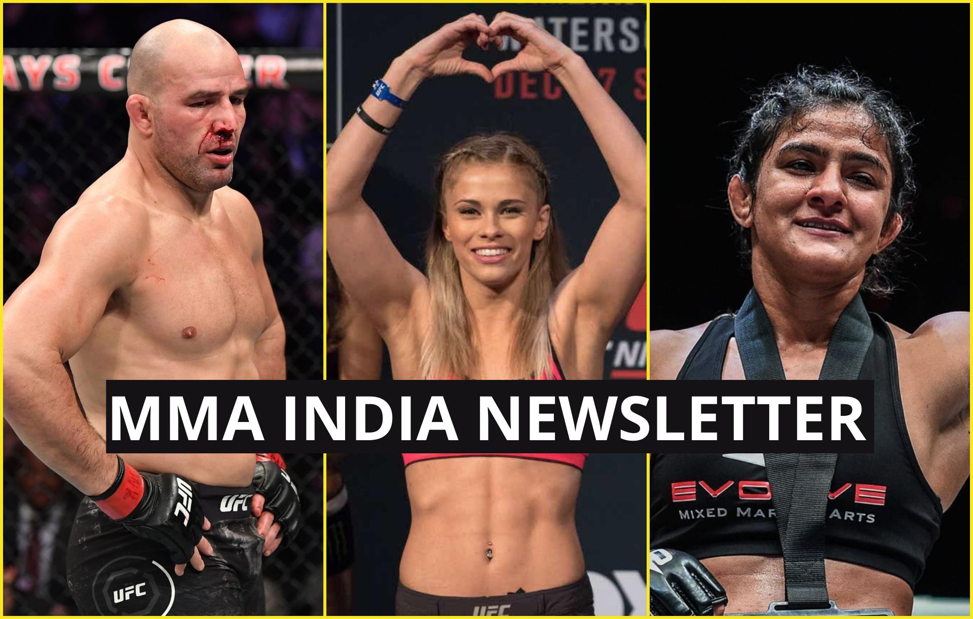 MMA India's Weekly Roundup (3 - 9 November): Ritu Phogat's next fight confirmed, Teixeira to get next title shot? - Ritu