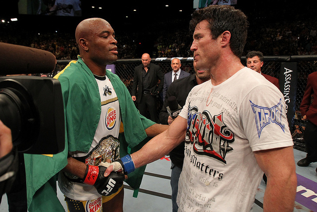 Chael Sonnen doesn't think Anderson Silva will fight again - Anderson Silva