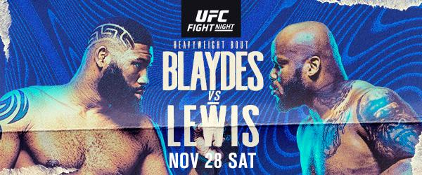UFC Fight Night: Blaydes vs. Lewis - Blaydes