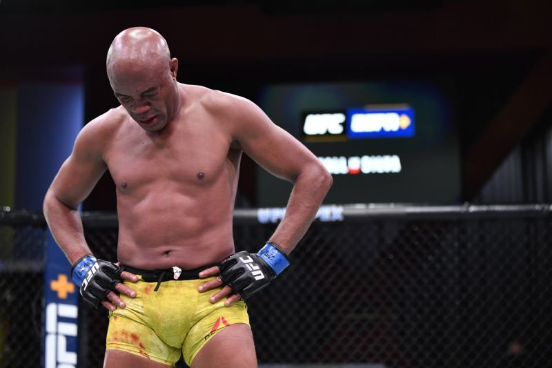 Legendary former middleweight champion Anderson Silva released by UFC - Anderson Silva