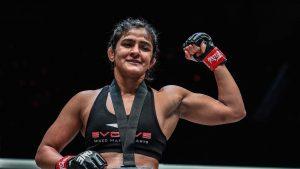 Ritu Phogat, ONE Championship, Jomary Torres