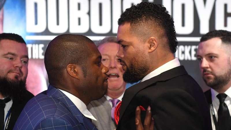 Joe Joyce 'insulted' by bookmakers' underdog status ahead of Daniel Dubois bout - Joe Joyce