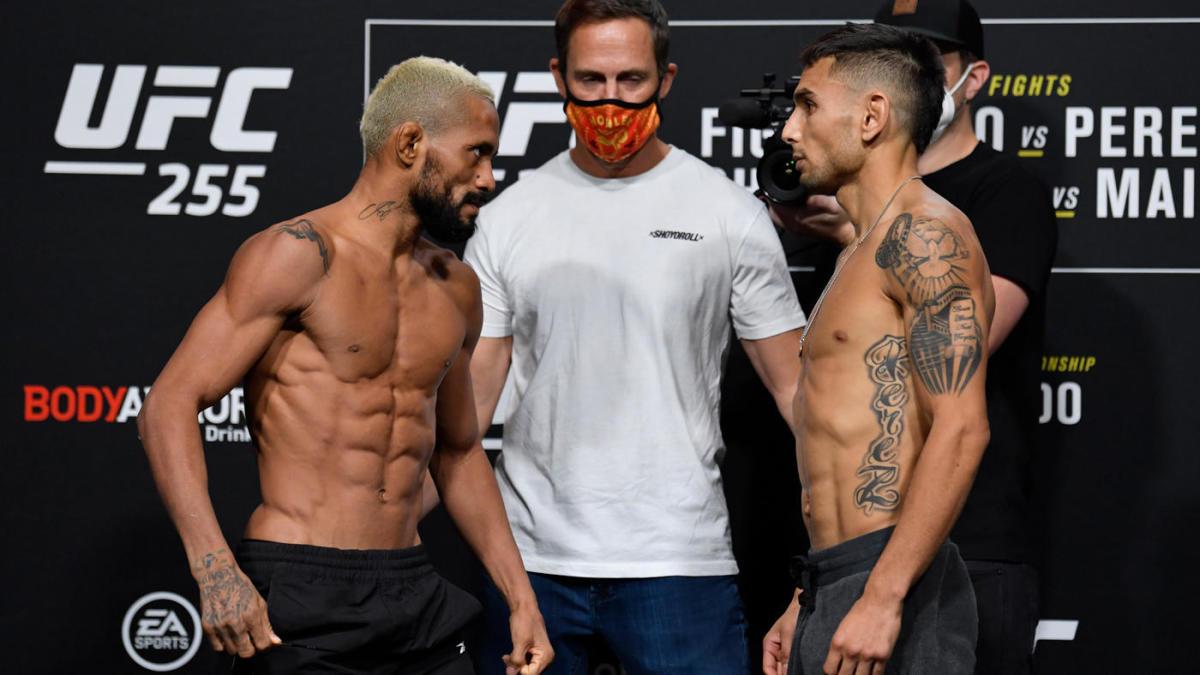 UFC 255, Valentina Shevchenko , Deiveson Figueredo