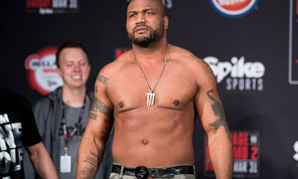 Scott Coker says Rampage Jackson has been released by Bellator and now is a free agent - Rampage