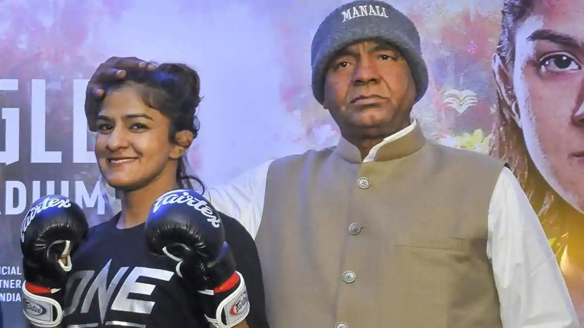Ritu Phogat says winning world title will make her father 'Happier' - Ritu Phogat