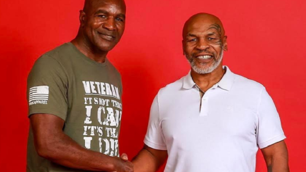 Evander Holyfield is ready for trilogy fight against Mike Tyson - Tyson