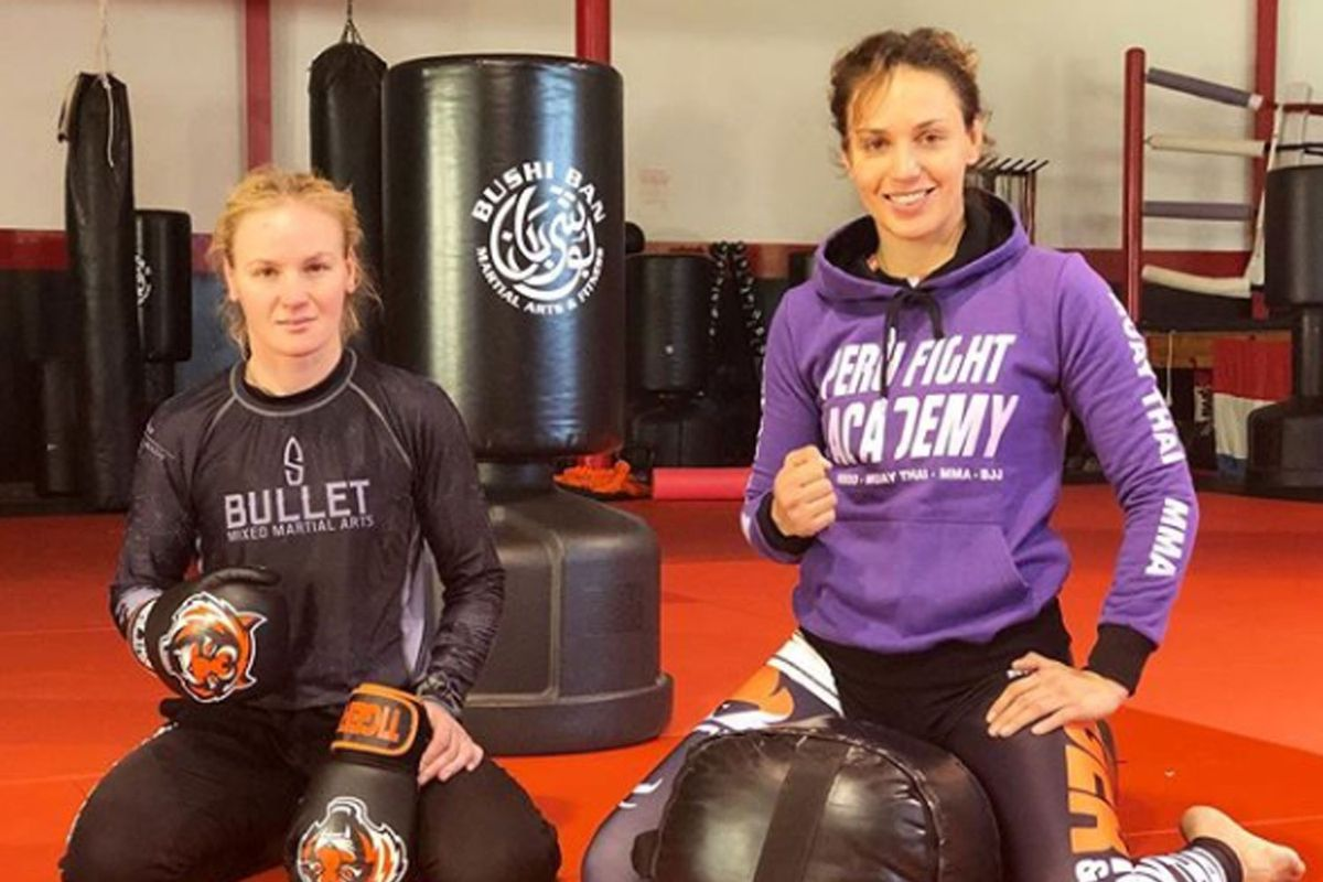 Valentina and Antonina Shevchenko are set to become the first pair of sisters to fight at same card at UFC 255 - Shevchenko