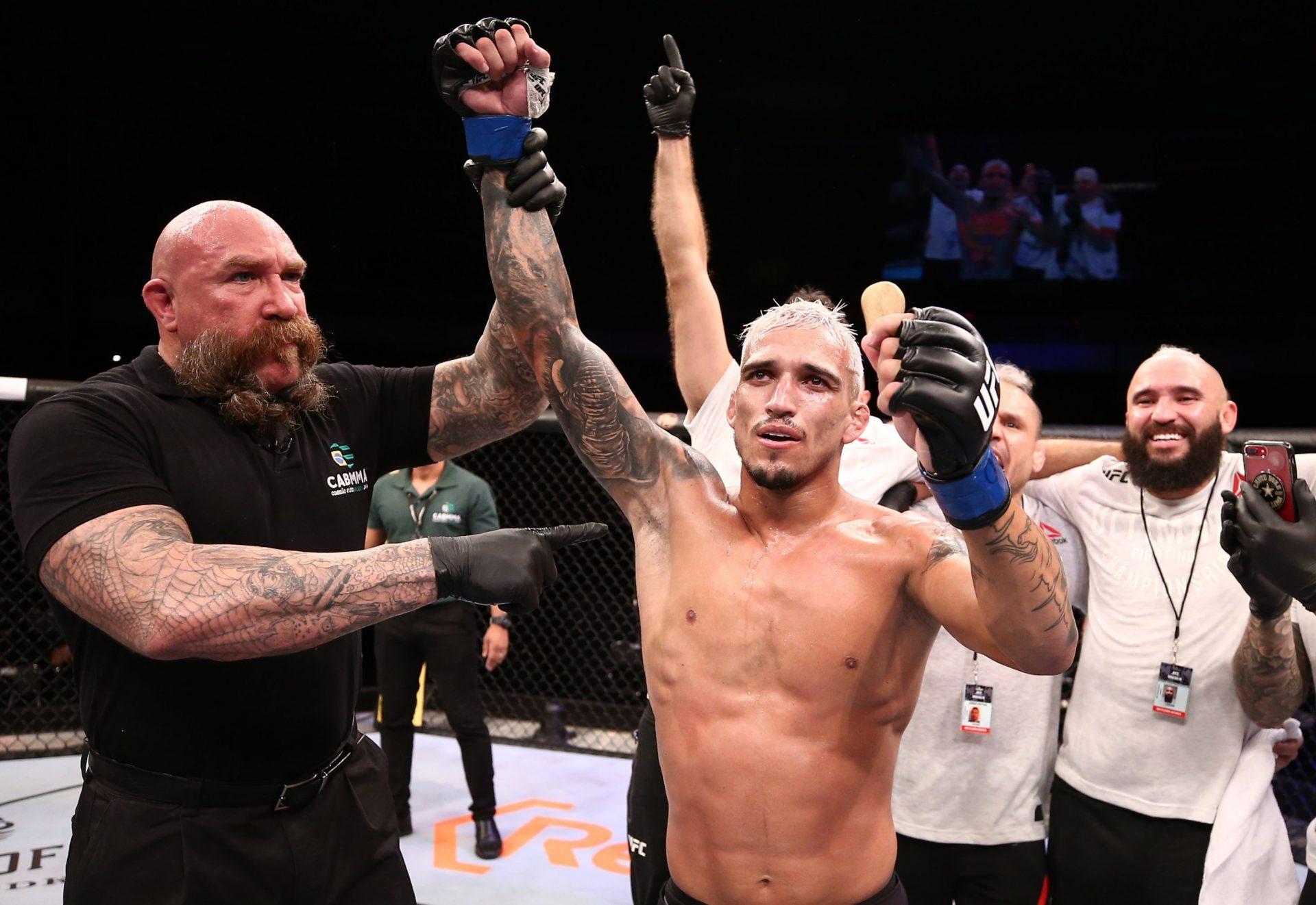 Charles Oliveira wants to fight the winner of McGregor vs Poirier - Charles Oliveira