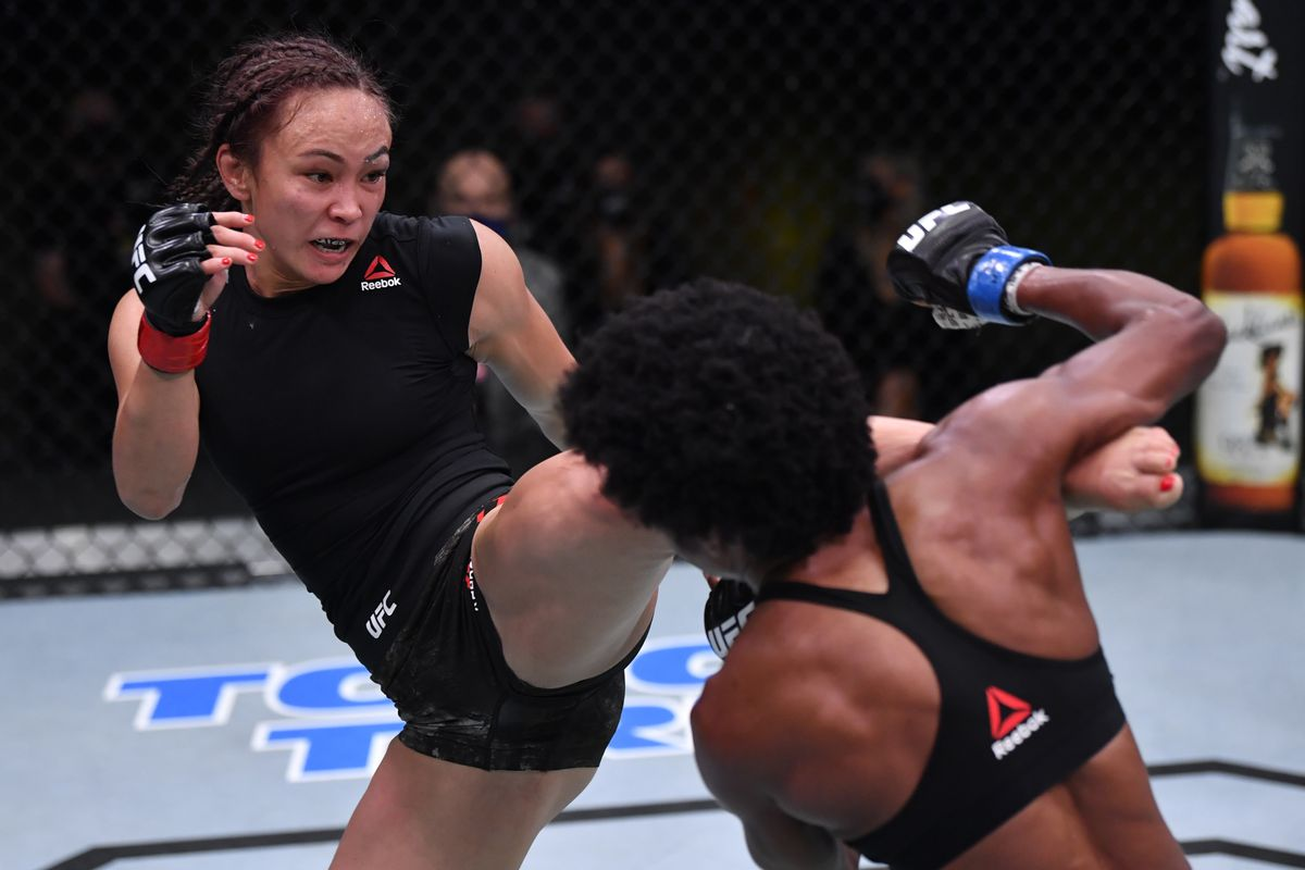 Michelle Waterson out of her fight against Amanda Ribas at UFC 257 - Ribas