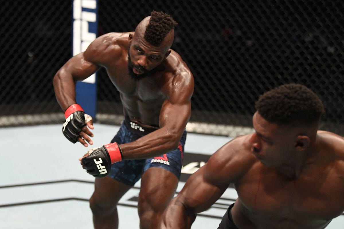 Joaquin Buckley KO of Impa Kasanganay: MMA India Show Awards 2020 Knockout of the Year - KO