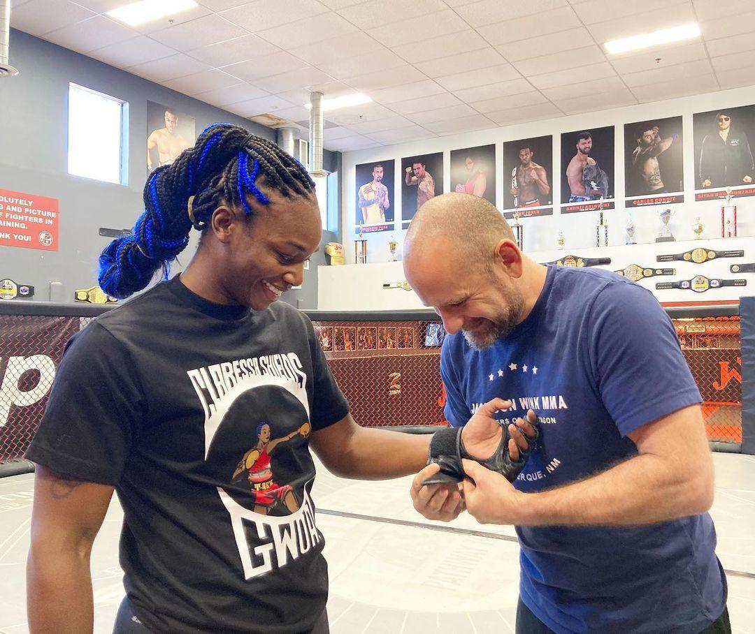 Boxing Champion Claressa Shields starts MMA training at Jacksonwink MMA gym - Claressa Shields