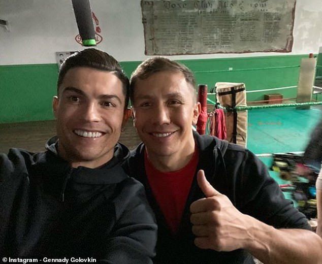 Cristiano Ronaldo admits he watches Boxing and UFC more than Football - Ronaldo