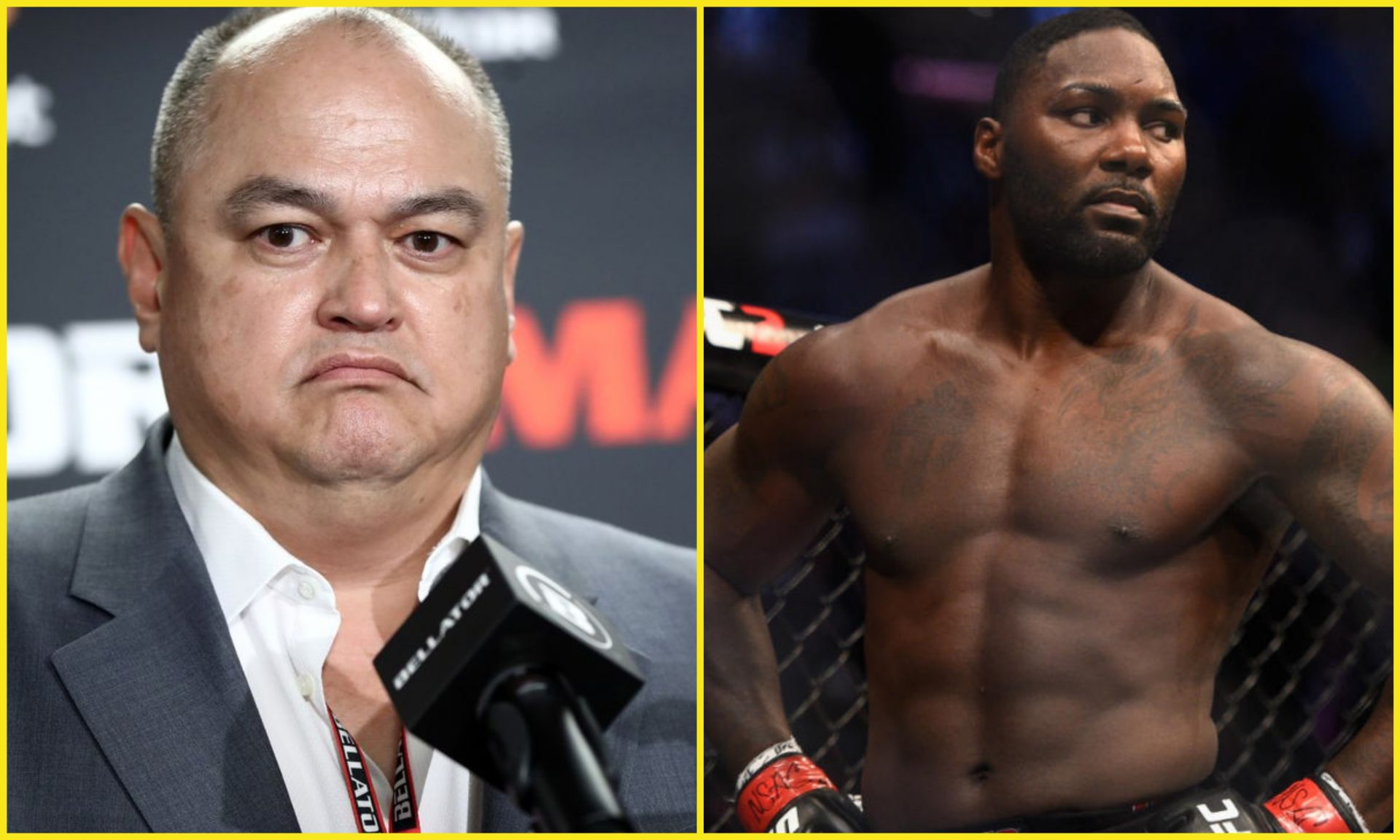 Scott Coker outlines Bellator's plan for Anthony Johnson - Anthony Johnson