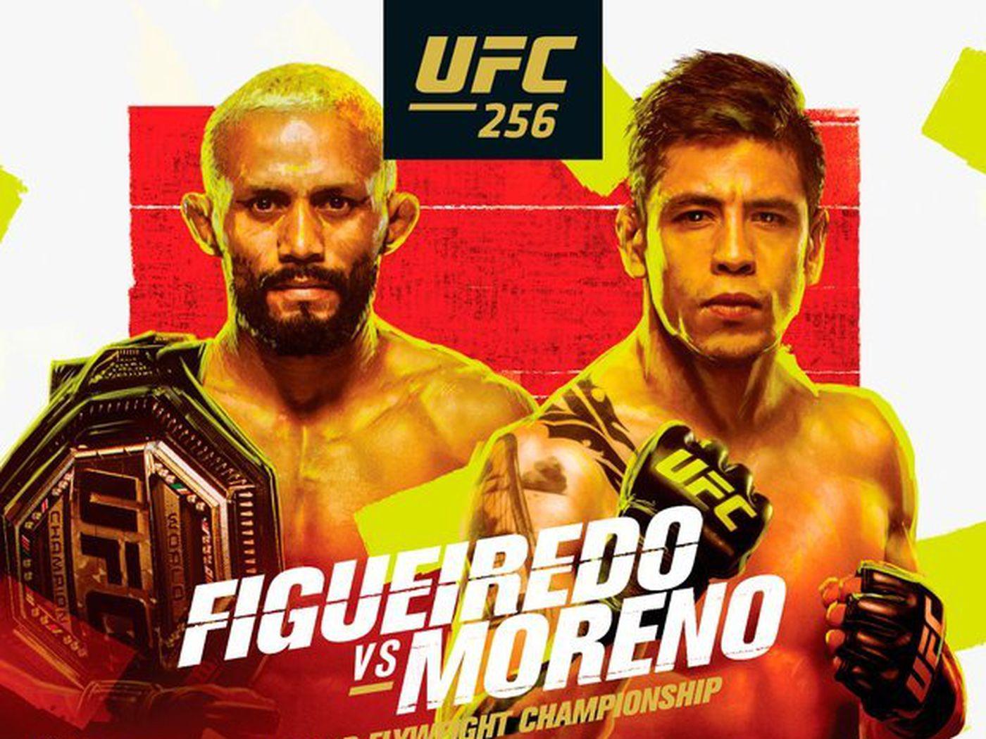 UFC 256: Figueiredo vs. Moreno - Figueiredo