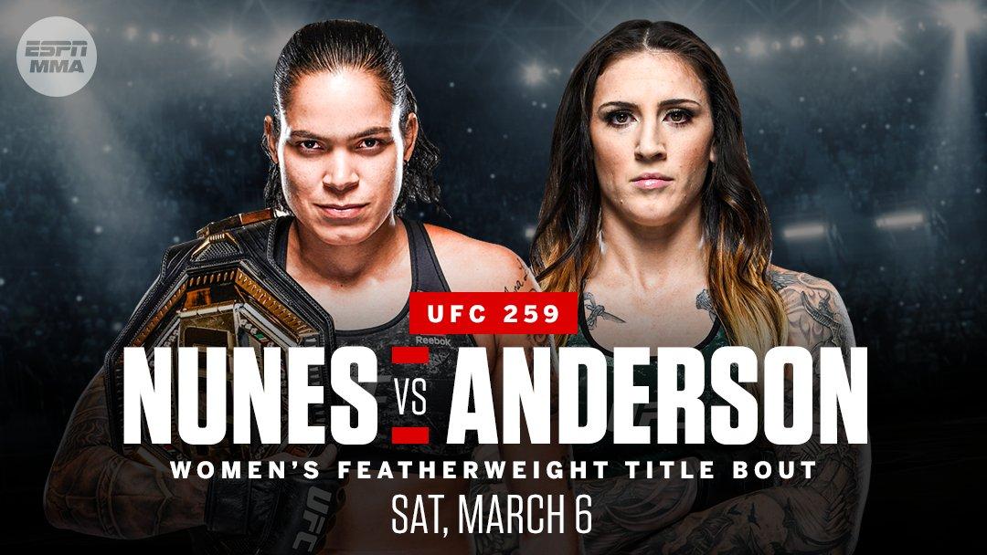 Amanda Nunes says she is not underestimating Megan Anderson ahead of UFC 259 - Nunes