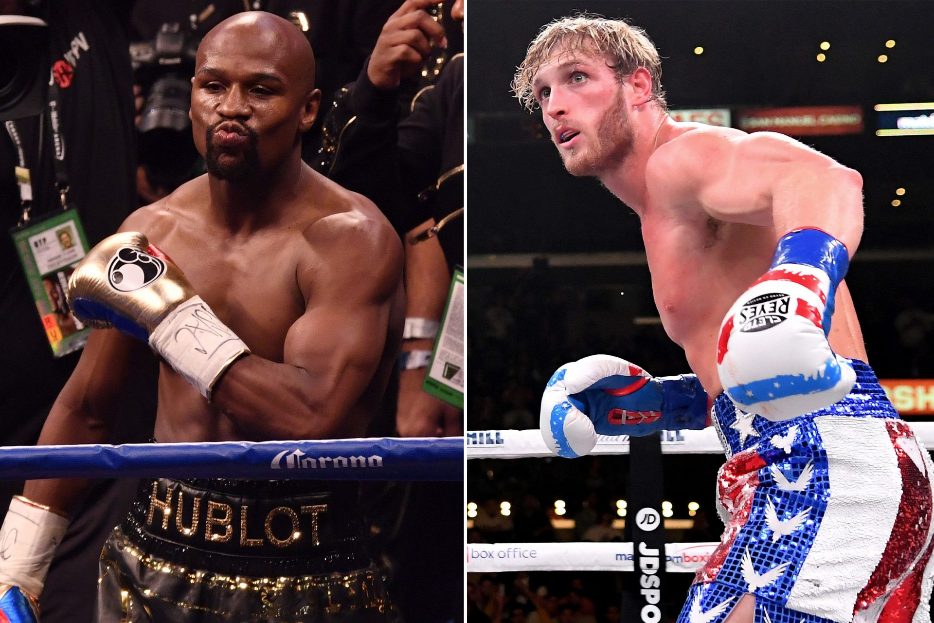 Logan Paul says he knows that his fight with Floyd Mayweather makes no sense - Logan