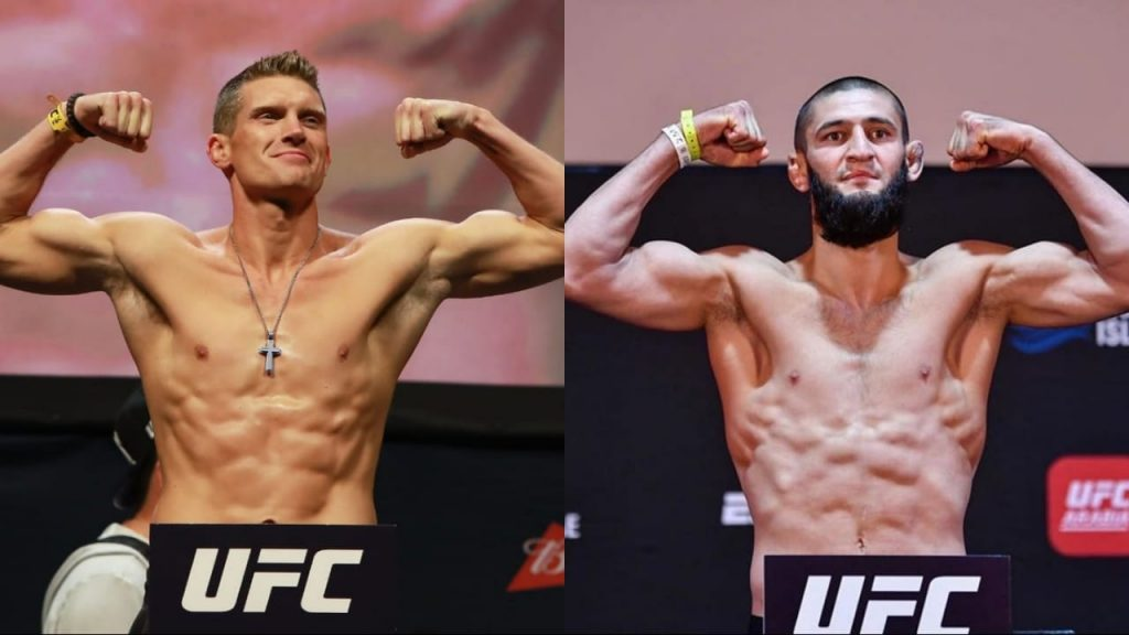 "Stephen Thompson says Khamzat Chimaev's promotional push is ""a slap in the face to everybody who's worked their butts off' - Khamzat"