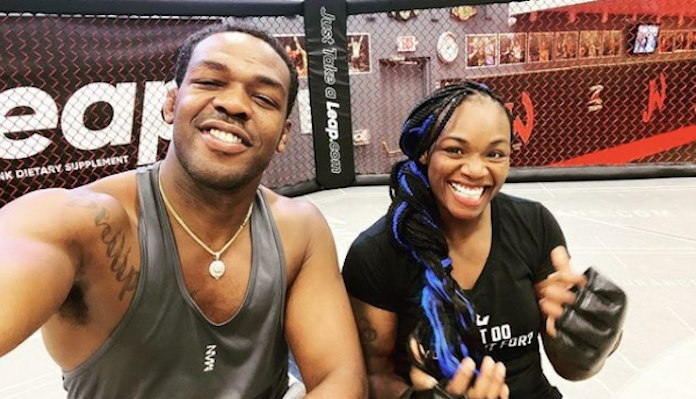 Claressa Shields preparing for MMA debut by training alongside Jon Jones and Holly Holm - Shields