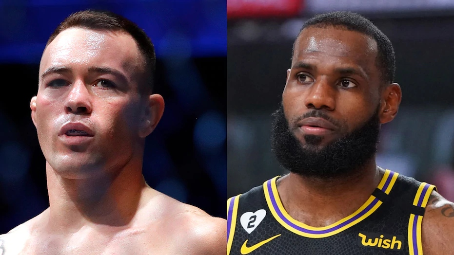 Colby Covington wants to fight Lebron James in a Boxing match - Colby