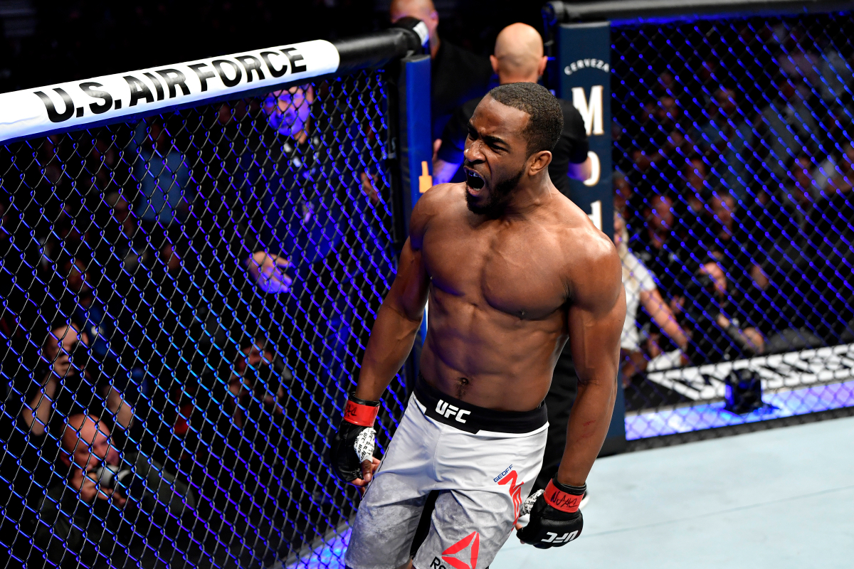Geoff Neal wants to earn title shot after knocking out Stephen Thompson - Geoff Neal