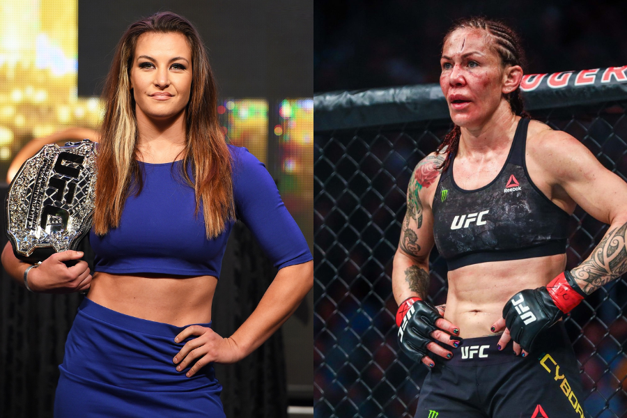 Miesha Tate wants to take on Cris Cyborg in a grappling match - Tate