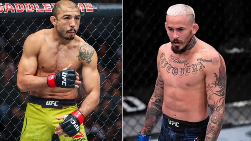 Marlon Vera says he is extremely confident about knocking out Jose Aldo - Marlon Vera