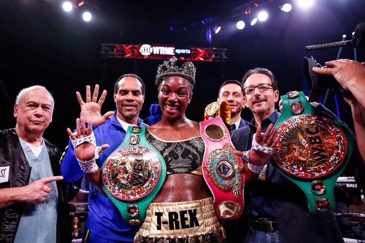 Claressa Shields wants MMA fans to bow down and kiss her feet - Claressa Shields
