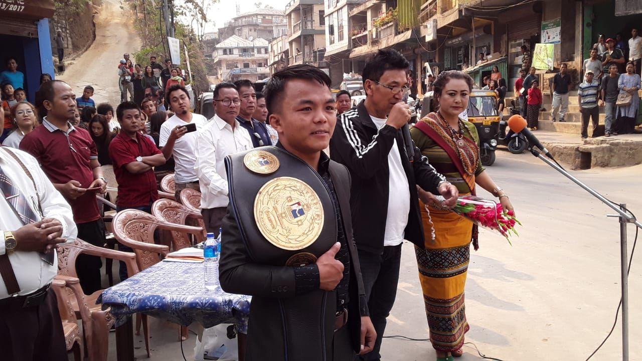 Mizoram's Nutlai Lalbiakkima plans on remaining active and improving as a pro boxer - Lalbiakkima