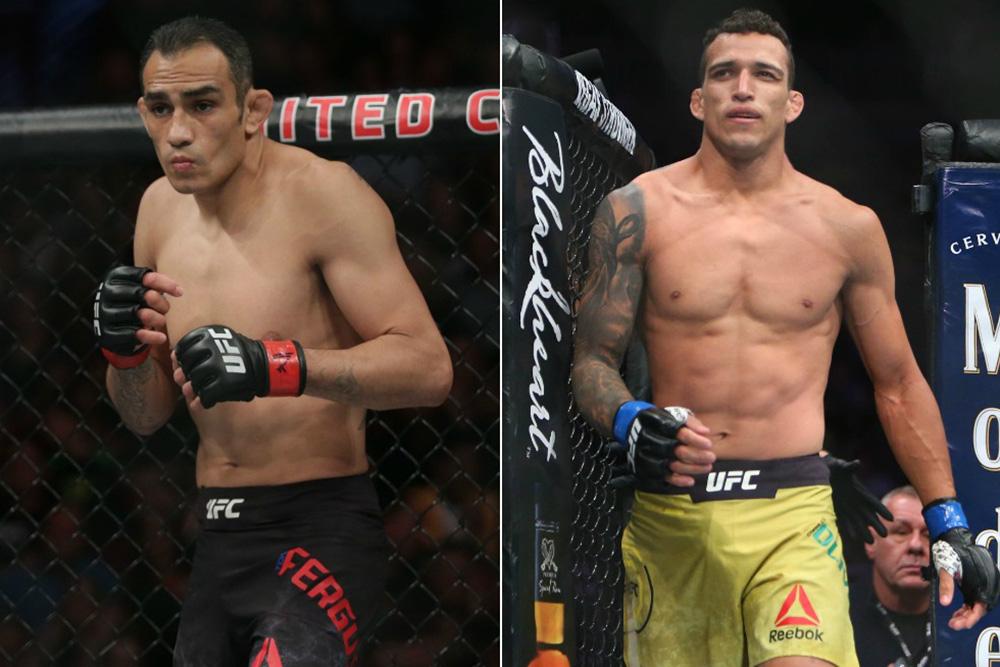 Charles Oliveira confident of finishing Tony Ferguson at UFC 256 - Charles Oliveira