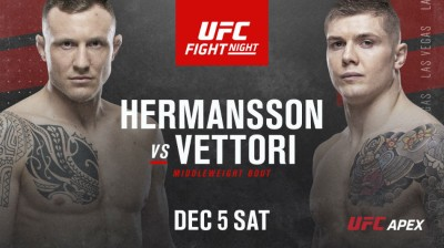 UFC on ESPN: Hermansson vs. Vettori - hermansson