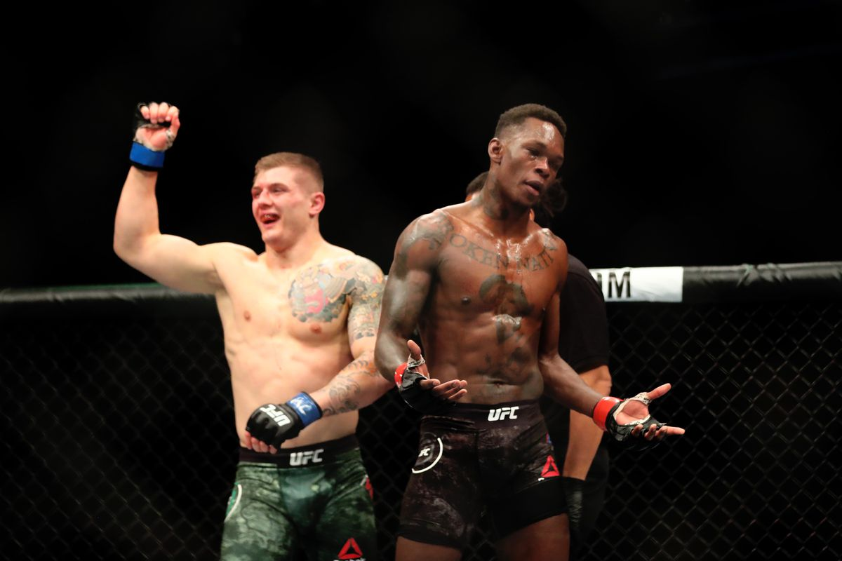 Marvin Vettori says he can beat Israel Adesanya in a rematch - Marvin Vettori