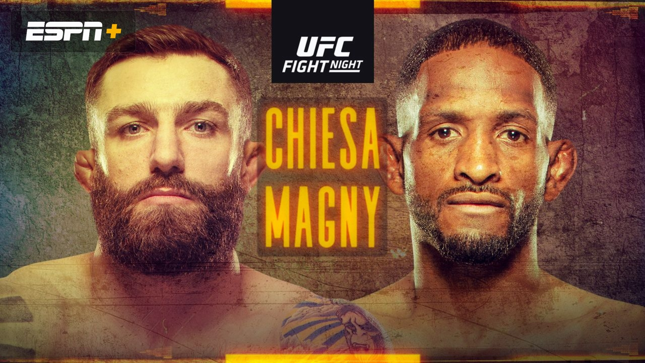 UFC on ESPN: Chiesa vs. Magny - Magny