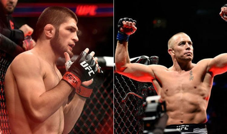 Georges St-Pierre opens up about the missed opportunity to fight Khabib Nurmagomedov - Georges St-Pierre