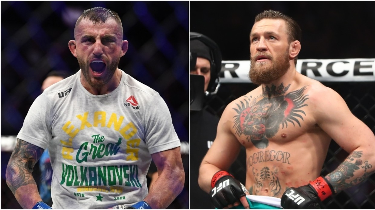 Alexander Volkanovski eyes 'GOAT' status by fighting Conor McGregor - Alexander Volkanovski