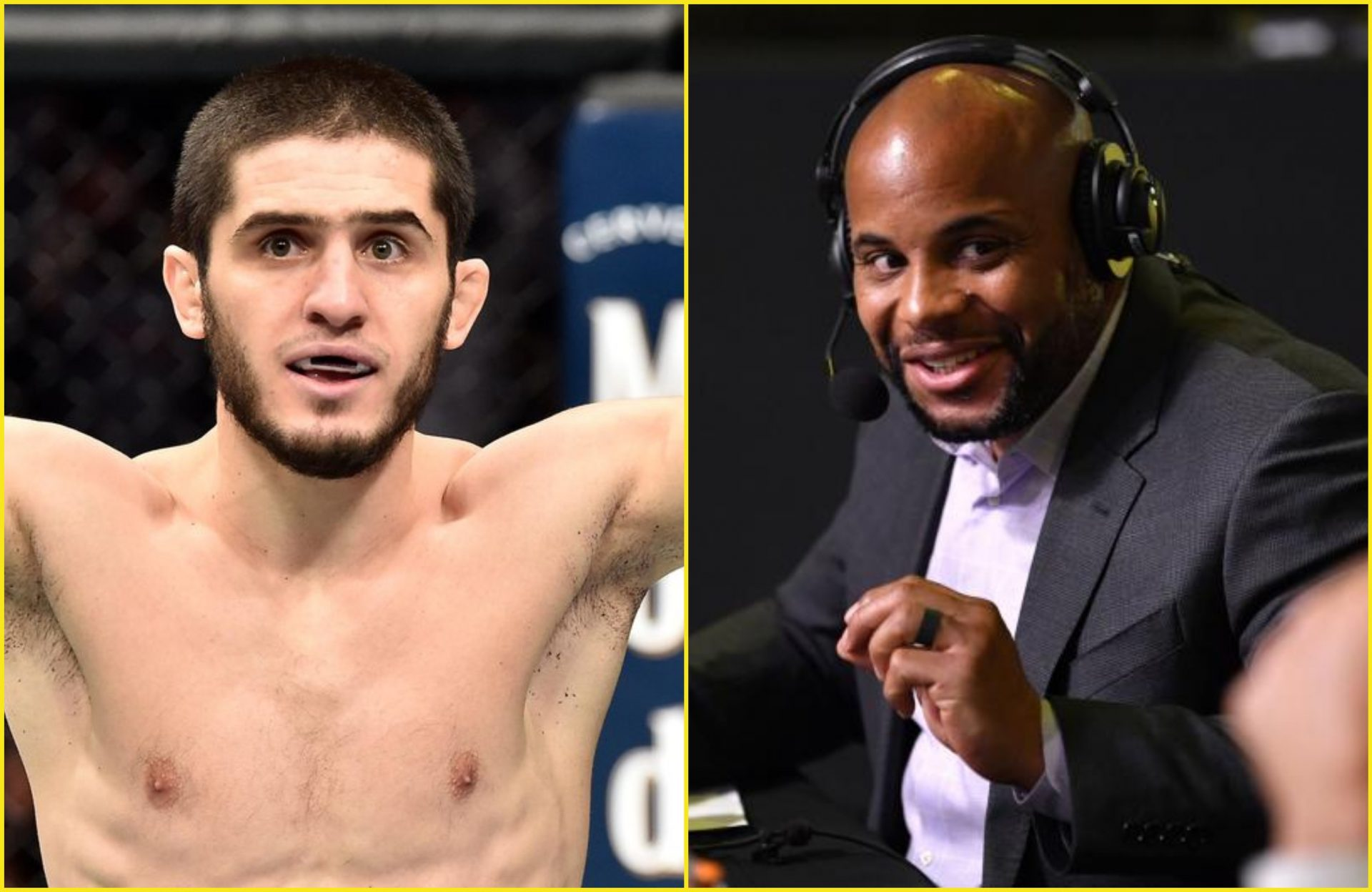 "Daniel Cormier is all praise for Islam Makhachev: ""As talented as anyone in the world"" - Islam Makhachev"