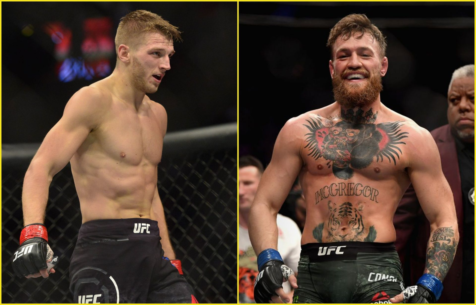 Dan Hooker agreed to fight Michael Chandler for a possible fight against Conor McGregor - Dan Hooker