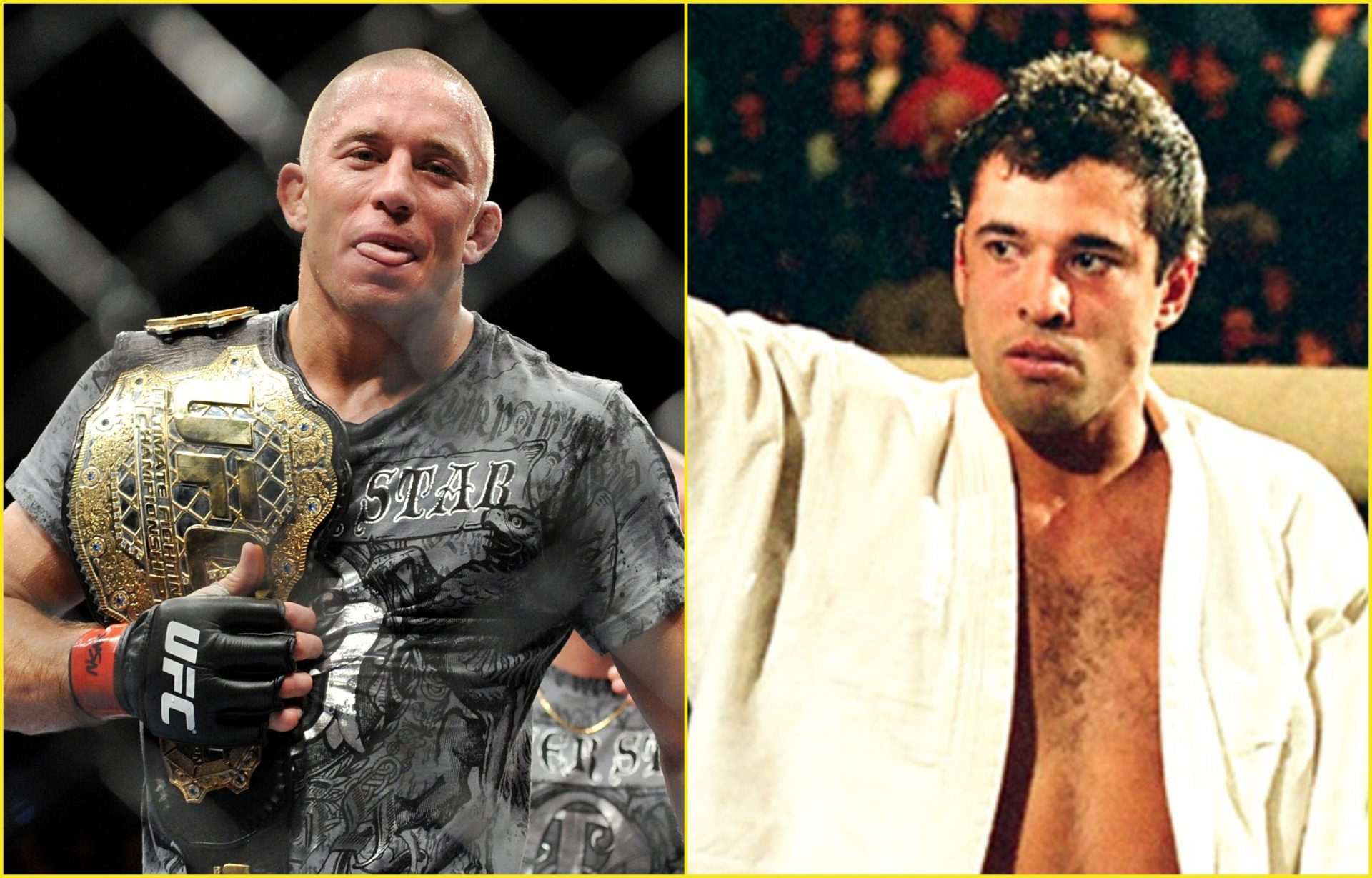 Georges St-Pierre reveals his pick for 'MMA GOAT' - Georges St-Pierre