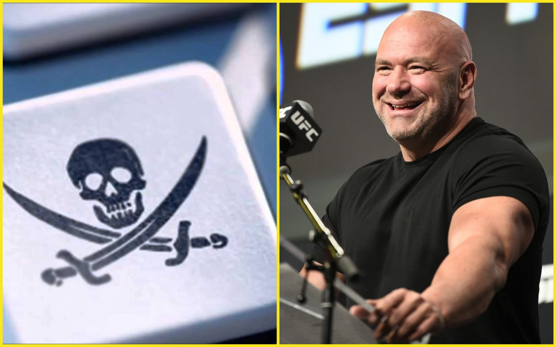 "Dana White sends stern warning to illegal streamers: ""I look forward to the crying and the begging"" - Dana White"