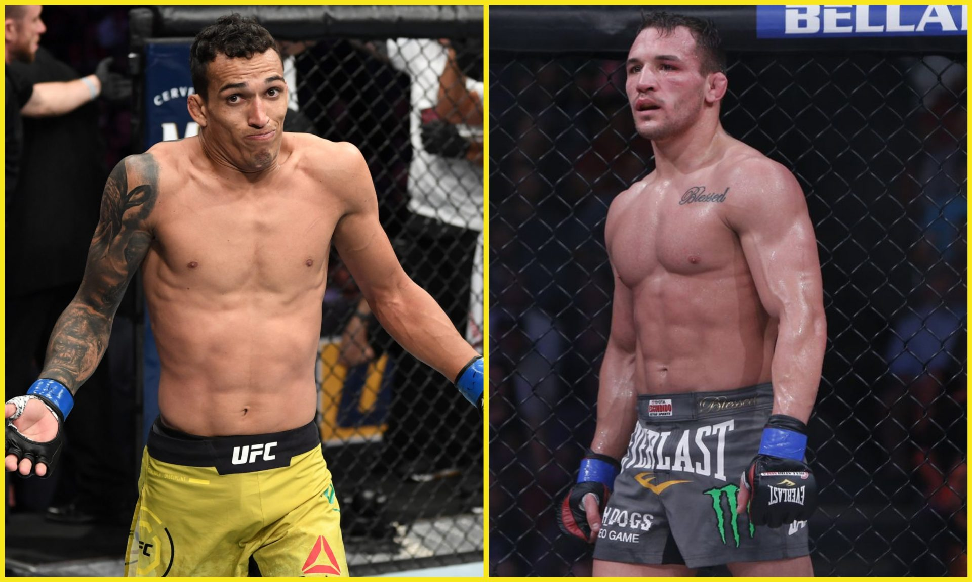 Charles Oliveira turned down fight against Michael Chandler, says Dana White - Oliveira