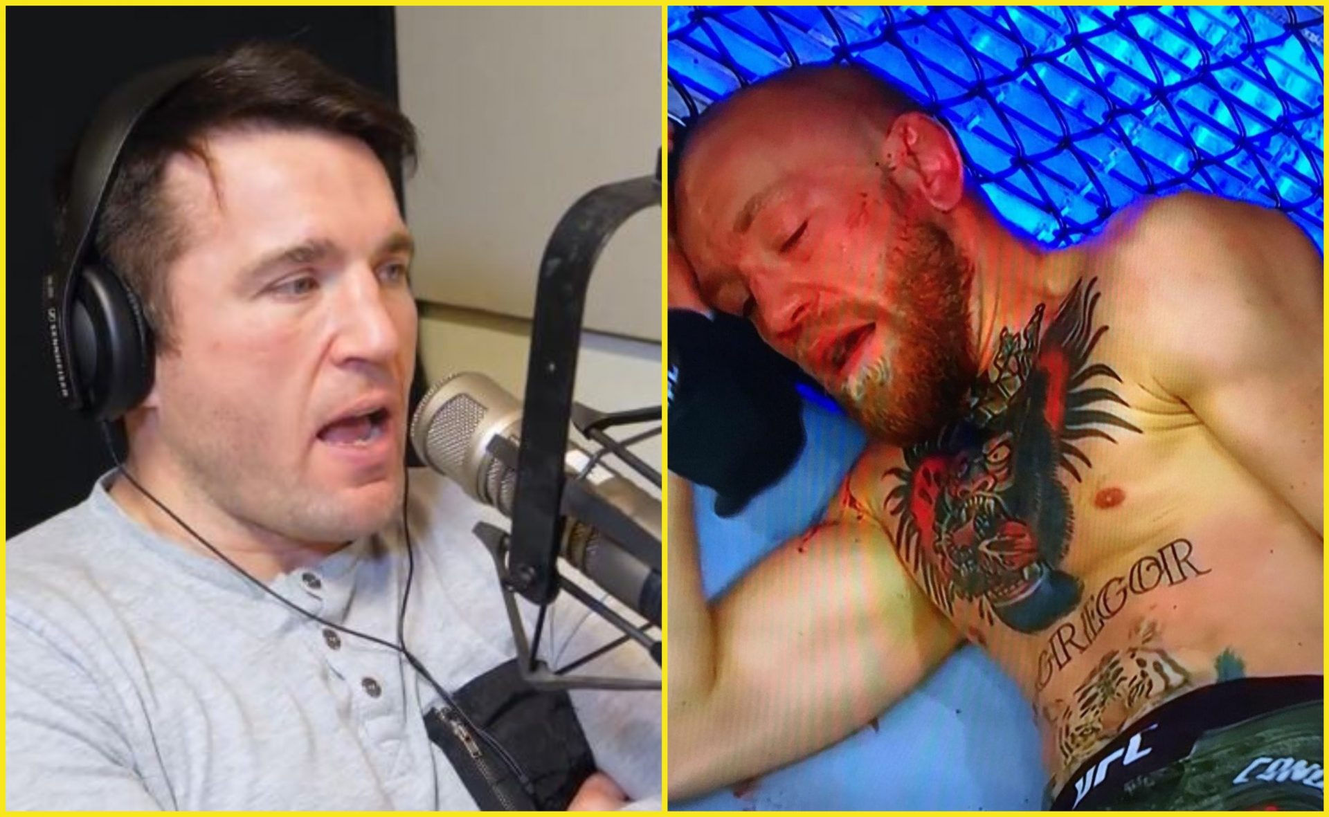 Chael Sonnen explains what went wrong with Conor McGregor at UFC 257 - Conor McGregor