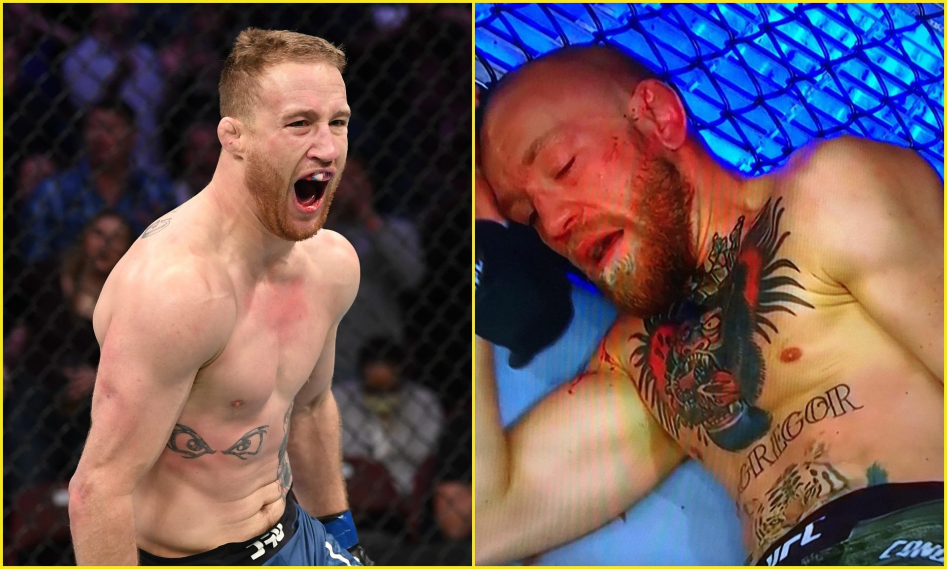 Justin Gaethje loved seeing Conor McGregor get knocked out by Dustin Poirier - Justin Gaethje