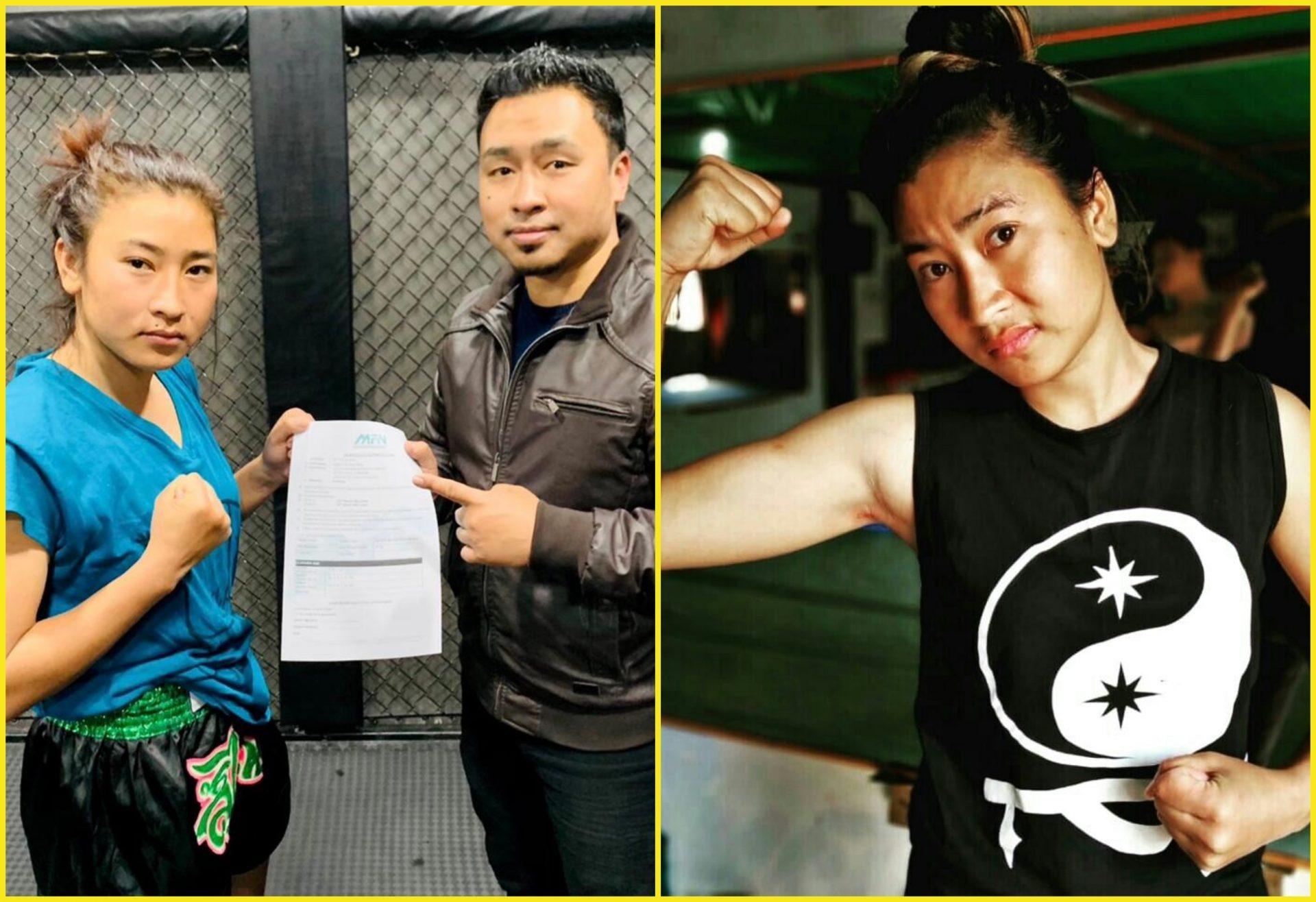 Manipuri MMA star Jojo Rajkumari signs with Matrix Fight Night - Jojo