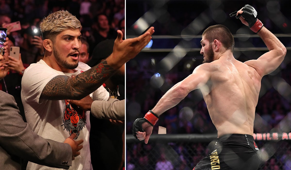 Dillon Danis says grappling match with Khabib Nurmagomedov would be easy work - Dillon Danis
