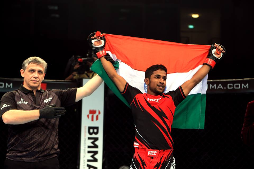 MMA Fighter Mohammed Mahboob Khan seeks govt support to continue MMA career - Mahboob Khan