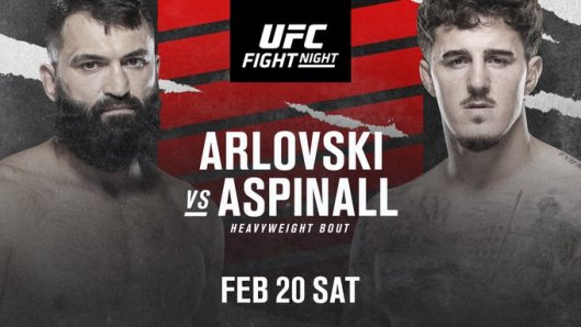 Andrei Arlovski will fight Tom Aspinall at UFC Fight Night on Feb. 20 - Arlovski