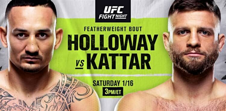 UFC on ABC: Max Holloway vs. Calvin Kattar - MAX Holloway