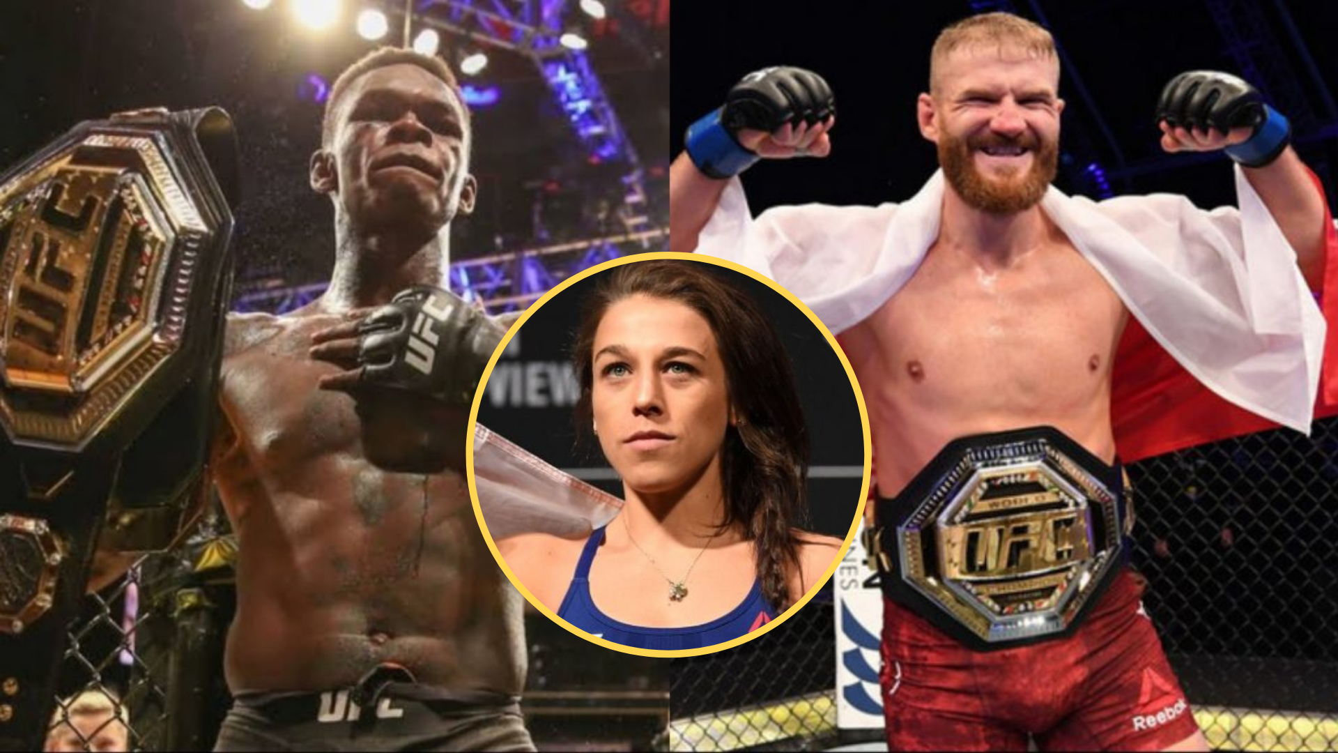 Jedrzejczyk breaks down light heavyweight title fight between Blachowicz and Adesanya - Jedrzejczyk