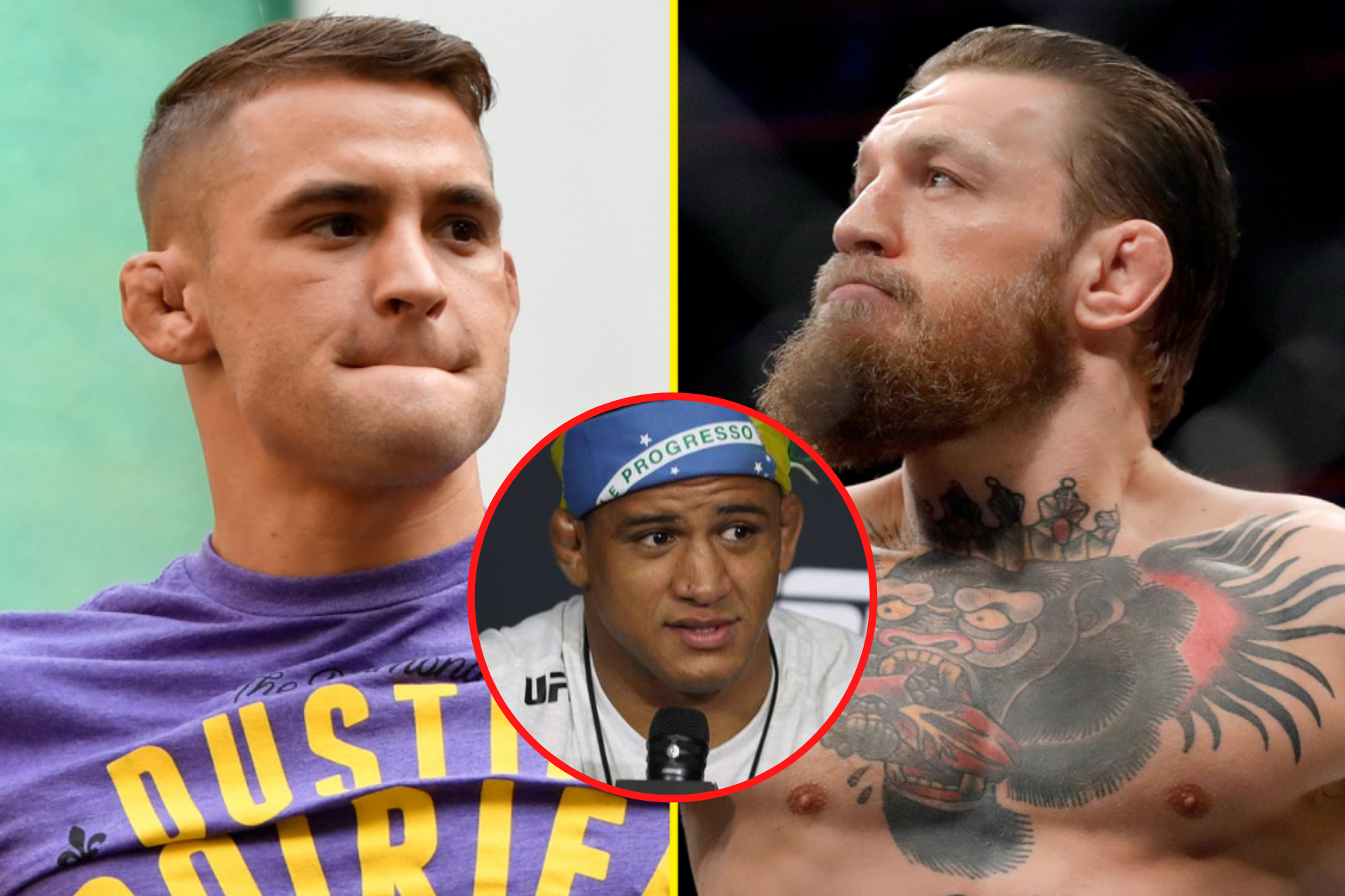 Gilbert Burns praises Conor McGregor's underrated Jiu-Jitsu ahead of UFC 257 rematch with Poirier - Conor