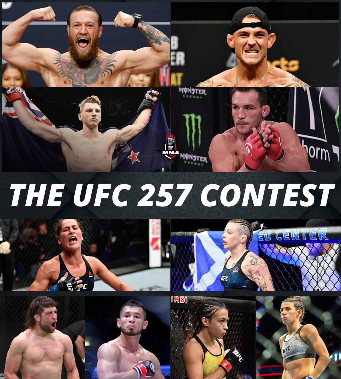 THE UFC 257 CONTEST | MMA INDIA SHOW - UFC 257