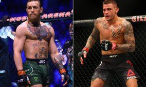 Dustin Poirier vs Conor McGregor at #UFC257